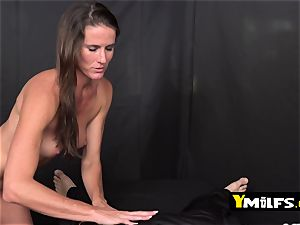 Sofie Marie is seduced by kinky boy into getting her honeypot boinked