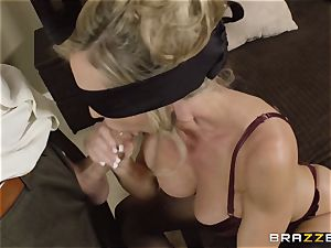 The husband of Brandi enjoy lets her drill a different boy