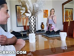 BANGBROS - milf Chanel Preston plows daughters-in-law boyfriend