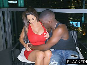 BLACKEDRAW Ava Addams Is smashing big black cock And Sending images To Her spouse