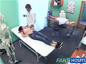 FakeHospital marvelous Russian Patient needs immense rock hard manstick