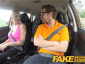 fake Driving college giant tits honey nails her lecturer
