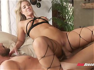cheating Candice Dare corded Up and boned