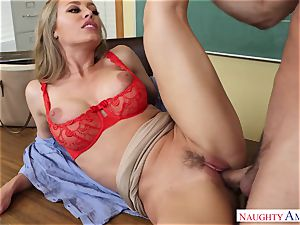 Nicole Aniston - My first-ever lecturer, who told me about lovemaking and took my fuck-stick on the desk