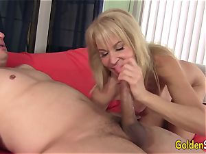 grandma Erica Lauren slit Eaten n screwed