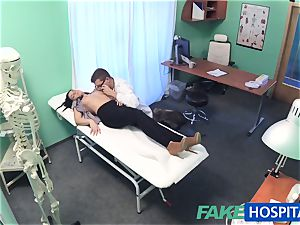faux medical center molten tat Patient cured with rigid shaft