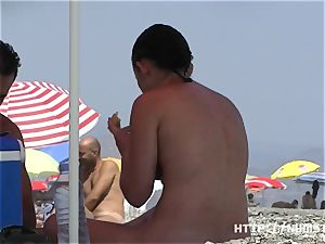 naturist flick at the nude beach