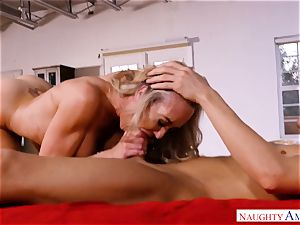 spunk greedy mature Brandi love