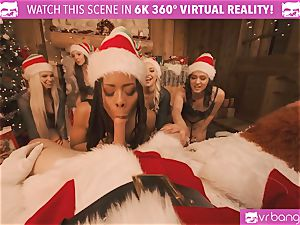 VRBangers Christams hump With Eight jaw-dropping Elves