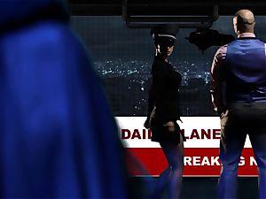 Supergirl Pt 3 Bad dame lesbos Riley Steele and Katrina Jade