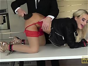PASCALSSUBSLUTS - Barbie Victoria unspoiled dominated anally