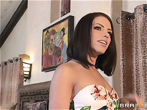 Kendra zeal and Adriana Chechik share a ginormous weenie