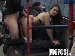 Mofos - Bonnie Shai gets torn up on the bus