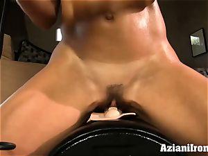Brandi enjoy rides the sybian nude