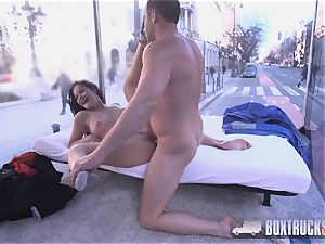 extraordinaire Dolly Diore is turned on by bang-out Truck