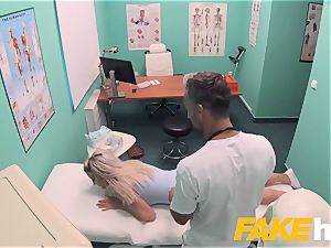 fake polyclinic hasty fucking gives towheaded huge knockers british
