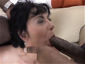 hotwife teaching Wathcing wife have first interracial