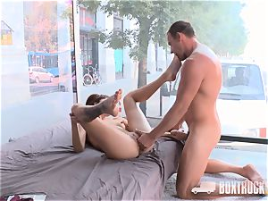 super hot brunette Suzy Rainbow Takes hard in our fuck-a-thon Truck