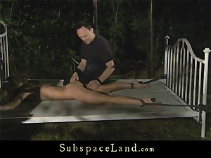 ass-fuck punishment for a bound slavegirl