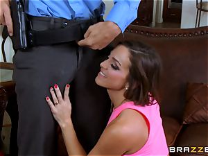 Abigail Mac gets shafted by a hot cop in uniform