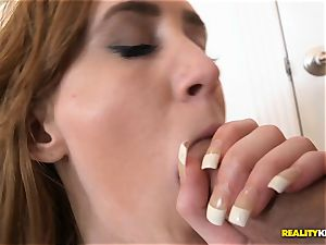 scorching redhead Abby North deeply cooch humped