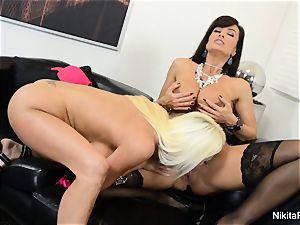 molten Russian Nikita Von James nails porn legen Lisa Ann
