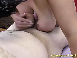 gang-bang with super-fucking-hot german nymphs