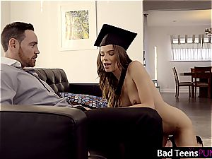 Jillian is a horny student who needs to get punished