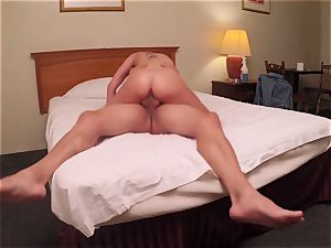 Brianna brown caught on spy web cam as she boinks