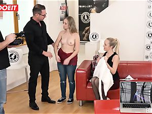 scorching Czech small nubile humps Her first-ever pornography casting