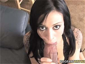 Vanessa wild humps big black cock In Front Of Her hotwife bf