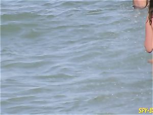 Mature naturist Amateurs Beach spycam cougar CloseUp coochie