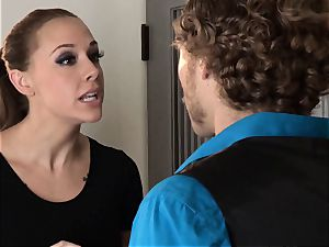 Chanel Preston rails a ample rod with her inked honeypot