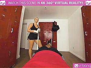 VRBangers.com super-steamy stunner sweaty pummeling Her Boxing Coach