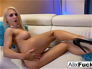 Solo act starring pornography star Alix Lynx
