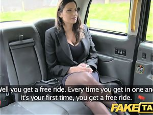 faux taxi warm big-titted honey gets ample cum shot
