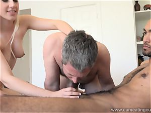 Niki Snow Makes spouse blow hefty dark-hued manmeat