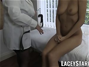 LACEYSTARR - fabulous cooter studied by doctor GILF