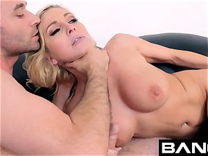 drill audition: double penetration star Christie Stevens Gets A facial