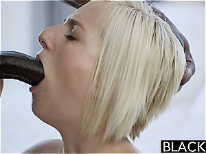 BLACKED hotwife towheaded wifey Kate Englands first-ever bbc