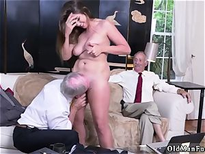 parent mate s associate amateur gonzo Ivy impresses with her ginormous bra-stuffers and donk