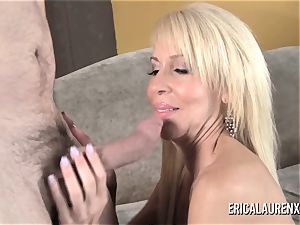 GFE red-hot blond milf and young boy