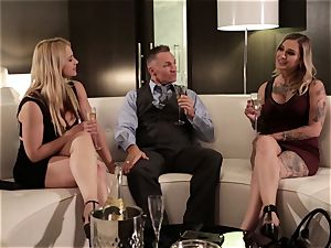 Takers pt four - Sarah Vandella and Kleio Valentien