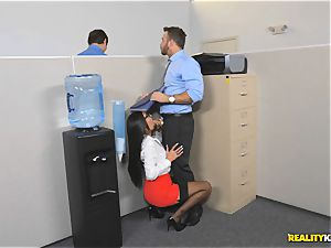 Office pummel with the secretary Aubrey Rose who happens to be the bosses daughter