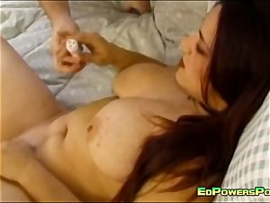 big-titted nubile drilled by Ed Powers