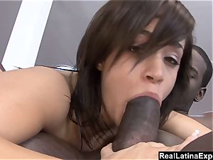 big-chested Latina Chavon Taylor Has A cock-squeezing booty