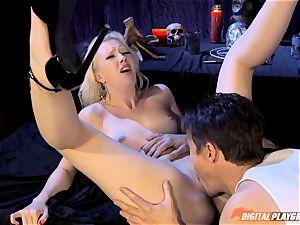 Satanic hook-up ritual with Samantha Rose