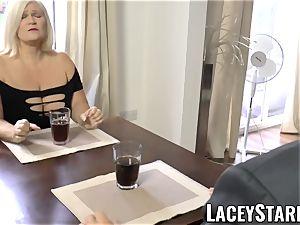 LACEYSTARR - wildest grannie analled before pop-shot