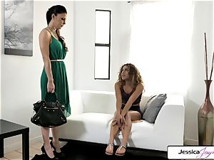 Jessica Jaymes and Liv Revamped nail a enormous stiffy