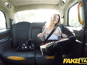 faux taxi petite Kylie Nymphette cooter romped